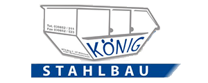 König Stahlbau UG ist Spezialist & Hersteller für - Absetzcontainer - Abrollcontainer - Absatzmulden Mini - Absatzmulden Mini -Bürocontainer - Lagercontainer
